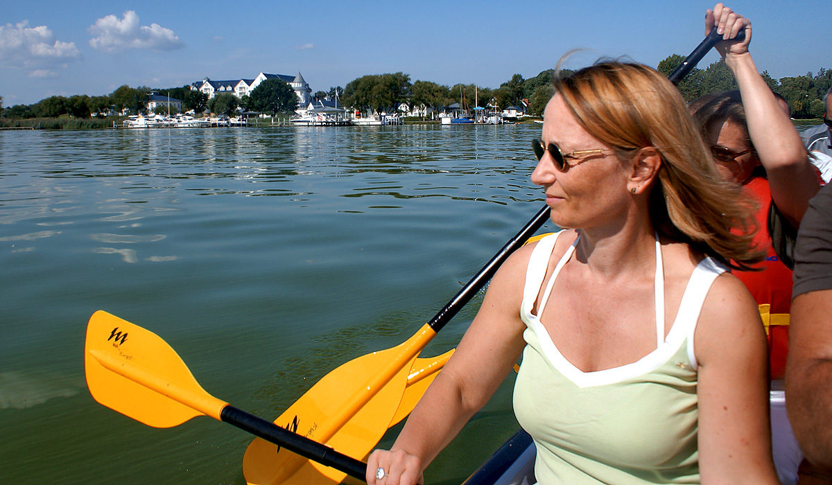Drachenboot- & Kanutouren