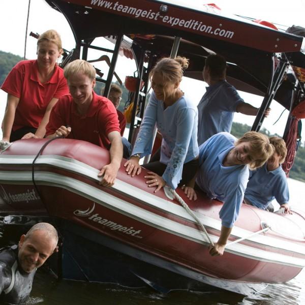 Die Expeditionsboote