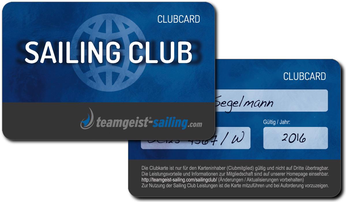 Mitgliedschaft im Sailing-Club