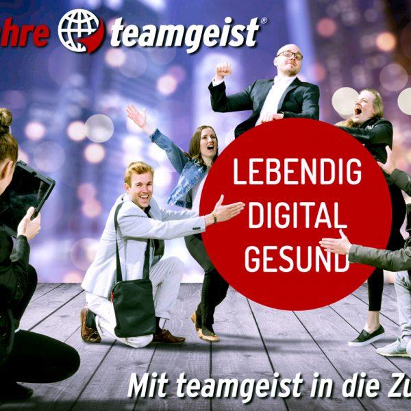 Rückblick: Meilensteine der Teamgeist Firmengeschichte